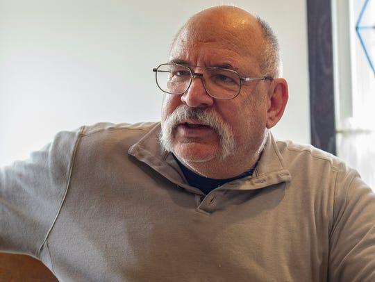 Joe Crook, former Mitchelville council member, has