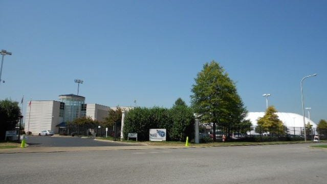 The Titans practice facility sits near property Southeast Venture is seeking to rezone.