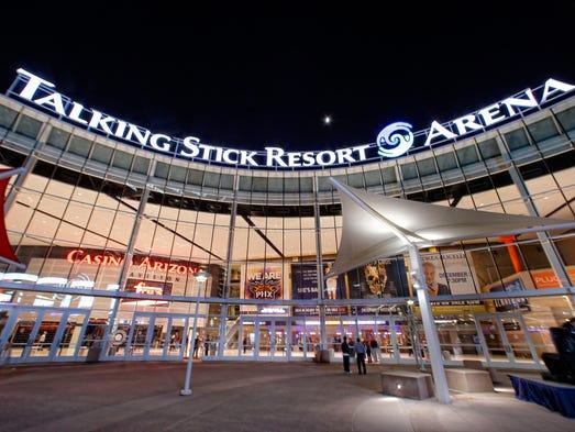 Talking Stick Resort Arena Wednesday, Nov. 18, 2015
