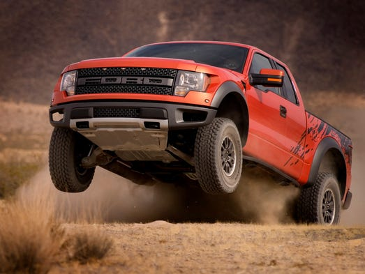 The 2010 F 150 SVT Raptor Was Fords Off Road Performance