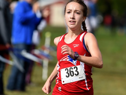Union County's Samantha Crowe wins the TEC Cross Country