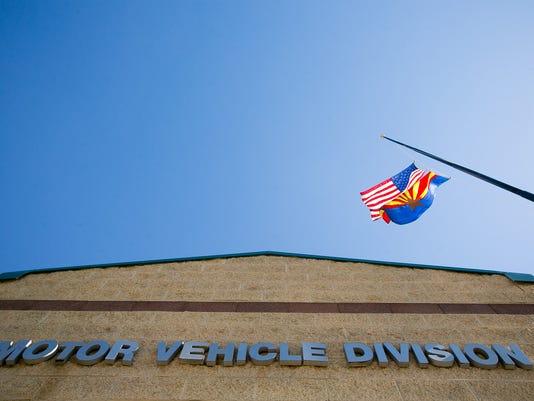 Arizona Motor Vehicle Division office.