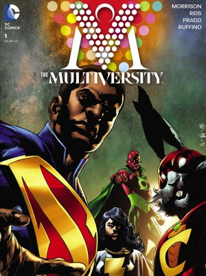 """Characters from 52 different worlds come together for one epic series in Grant Morrison's """"The Multiversity."""""""