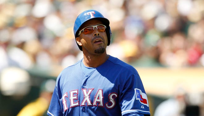 Nelson Cruz says he's grateful the Rangers are giving him a chance to contribute.