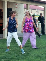 "Dancing at the St. Clair Summer ""Wine and Music"" can't be avoided on a shady lawn with a cool breeze and glass of wine."