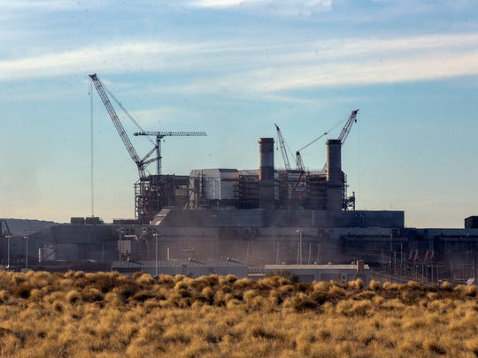 A portion of the Four Corners Power Plant is seen on Thursday in Waterflow.