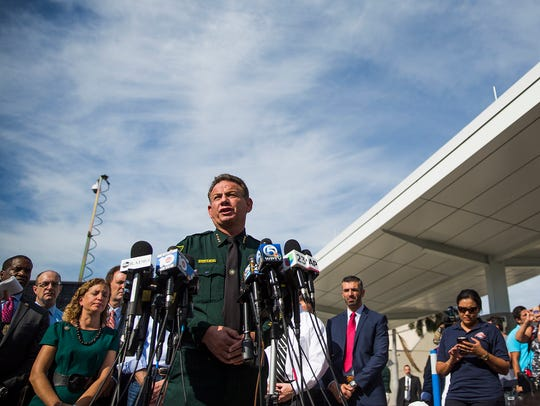 Broward County (Fla.) Sheriff Scott Israel