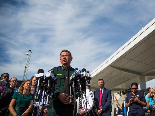 Broward County (Fla.) Sheriff Scott Israel