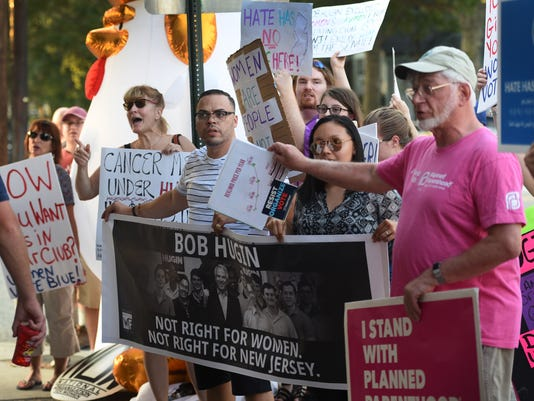 Fair Lawn Protest Bob Hugin  8