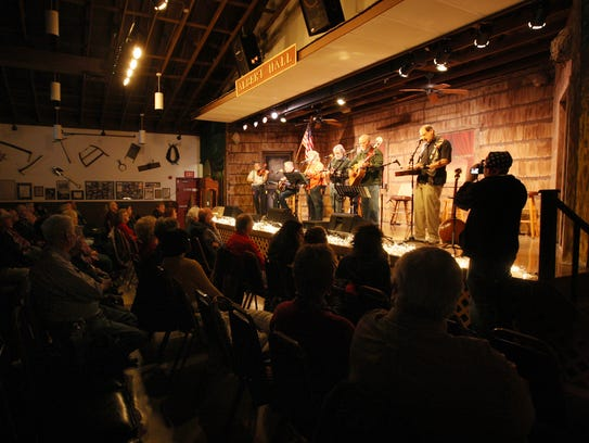 Heidi Olsen and The Night, pictured at Albert Music