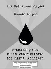The poster for the Urinetown Project.
