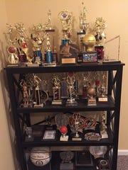 Kelan Martin's full trophy case.