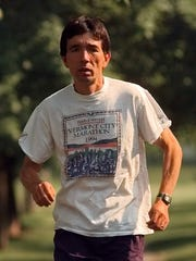 Pascal Cheng has missed only one Vermont City Marathon