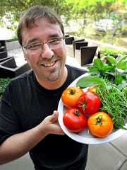 Black Market chef Micah Frank likes to work with fresh,