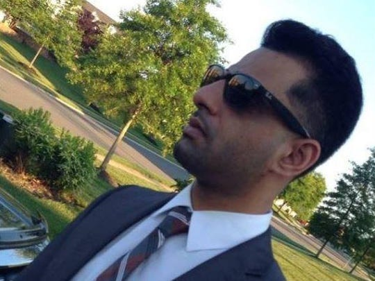 Shazim Uppal shown in his Facebook profile photo.