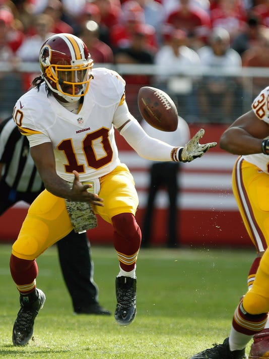 NFL: Washington Redskins at San Francisco 49ers