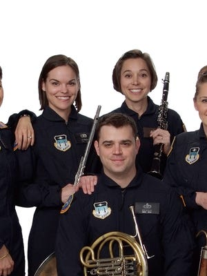 The United State Air Force Academy Rampart Winds Band will perform at 7 p.m. on Saturday at Morgan hall, 109 E. Pine St.