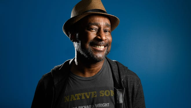 Author Eric Jerome Dickey, whose latest book is 'Finding Gideon,' photographed in Los Angeles.