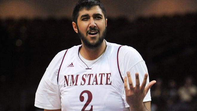 Sim Bhullar played at New Mexico State, and now he'll get his first chance in the NBA.