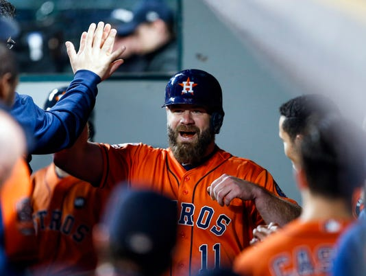 USP MLB: HOUSTON ASTROS AT SEATTLE MARINERS S BBA USA WA