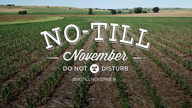 Leave it be, let it grow. Save time, money and improve your soil's health by joining the farmers who observe No-Till November.