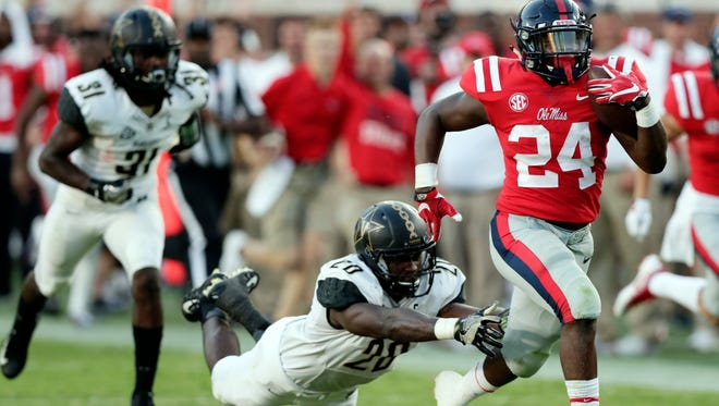 With Jordan Wilkins preparing for the NFL and D'Vaughn Pennamon injured, Ole Miss needs Eric Swinney to step up at running back.