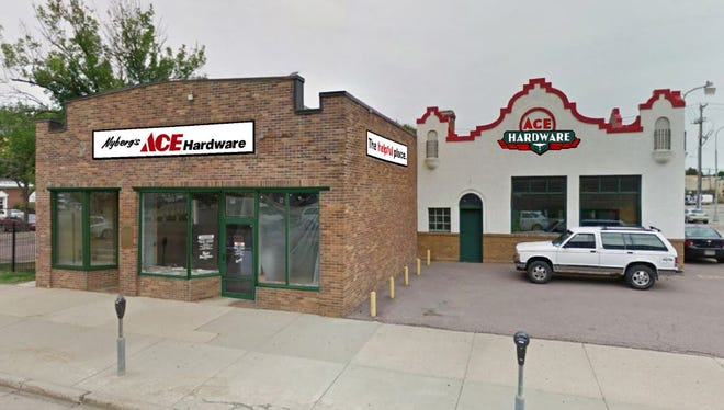 A rendering of the new Nyberg's Ace location in the former Sid's Liquor building in Downtown Sioux Falls.