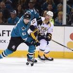 NHL Playoffs: Predators vs. Sharks Game 5