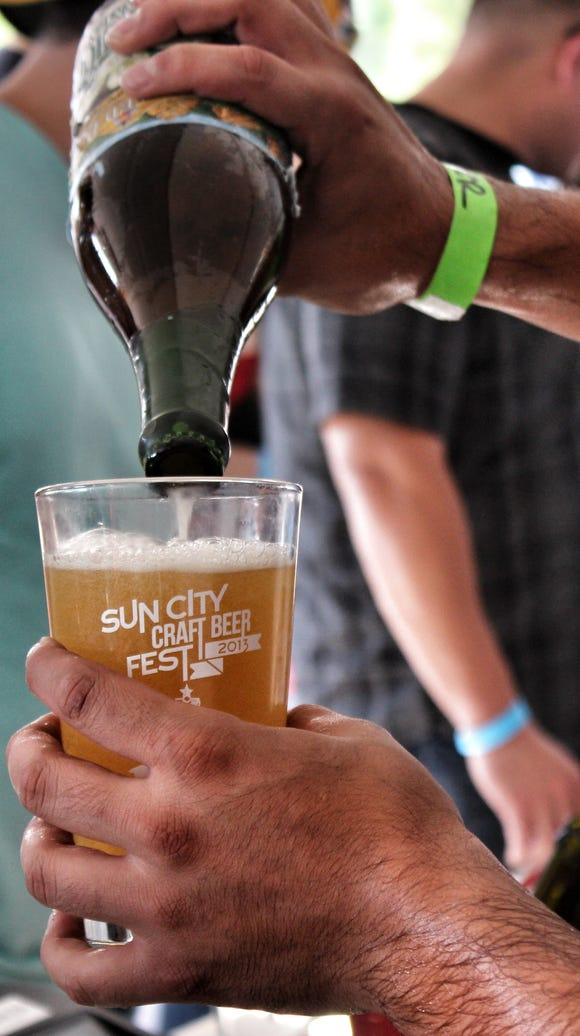The Sun City Craft Beer Festival will feature beers