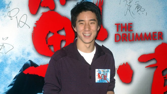 "In this Oct. 8, 2007 file photo, Hong Kong actor Jaycee Chan poses for photo upon arrival for ""The Drummer"" premiere at Hong Kong Convention & Exhibition Centre."