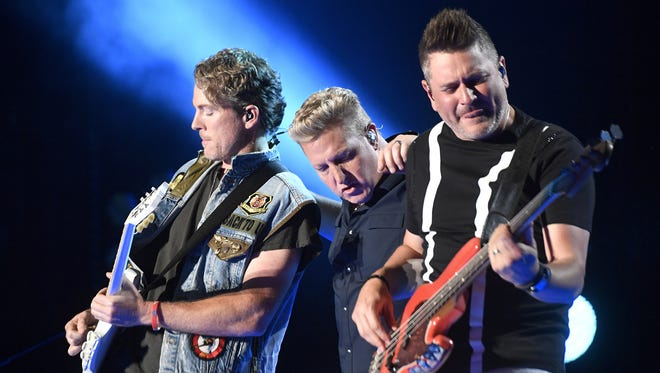 Rascal Flatts kick off the Live at the Garden concert series on Friday.