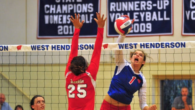 Mary Catherine Ball and West Henderson are home for Saturday's start to the NCHSAA volleyball playoffs.