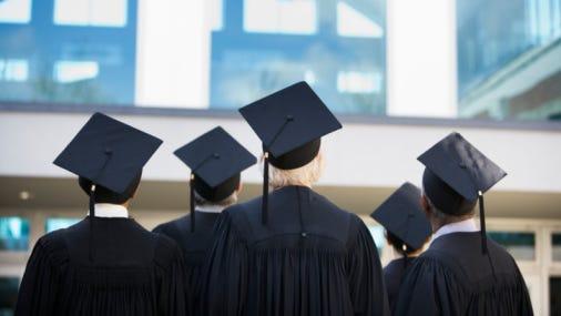 Student examined high school graduates in 22 Arizona school districts.