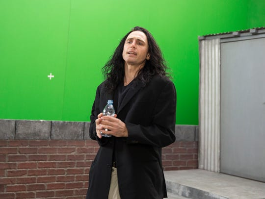 James Franco plays hapless filmmaker Tommy Wiseau in