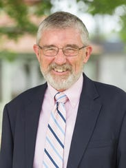 Dr. George Snyder, Interim President of Davis College.