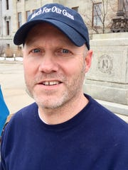 Brent Webber, March for our Guns rally organizer.