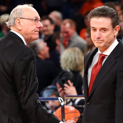 Jim Boeheim defends Rick Pitino after NCAA sanctions against Louisville