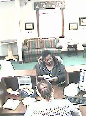 This woman is suspected of withdrawing money that didn't belong to he from a Clarksville bank.