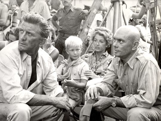 "Kirk Douglas, who starred and executive produced ""Cast"
