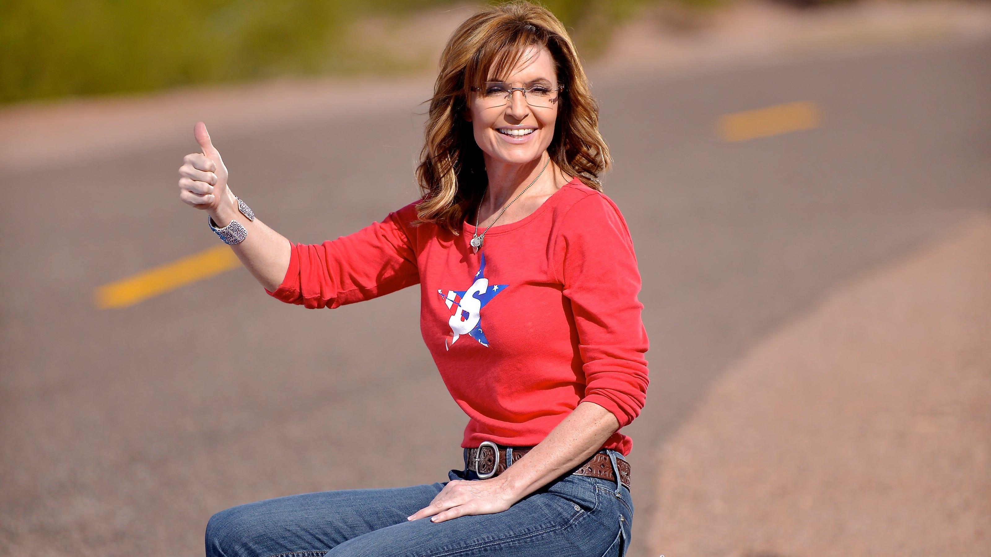 Exclusive: Wanna see Sarah Palin go hitchhiking?