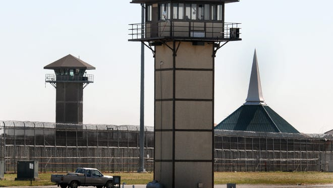 """James T. Vaughn Correctional Center near Smyrna. A """"plethora"""" of prison staff members have resigned since a siege took place there on Feb. 1"""