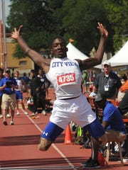 City View's Abbas Muhammad earned a silver medal Friday