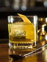 The White Negroni at Honor Amongst Thieves.