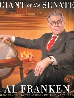 """U.S. Sen. Al Franken will be at Boswell Books on Sunday to sign copies of his latest book, """"Giant of the Senate."""""""