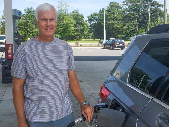 Ron Erwin, of Bethany Beach, said a slight increase in gas prices is nothing compared to what people on the Gulf Coast are going through in the wake of Hurricane Harvey.