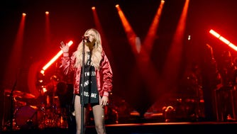 Kelsea Ballerini performs onstage for the opening night of The Unapologetically Tour at The Alabama Theatre on February 8, 2018 in Birmingham, Alabama.
