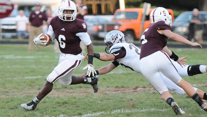 Galax senior running back Charles Harris has over 3,000 yards rushing this season, including a 464-yard, six-TD effort in a 41-33 win over Graham on Oct. 16.