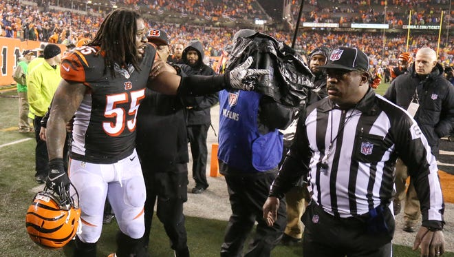 National pundits came down hard on Vontaze Burfict after the Bengals' 18-16 loss to Pittsburgh.