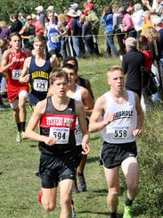 Liam Belson, SPASH, left and Adam Rzenkowski, Rosholt,