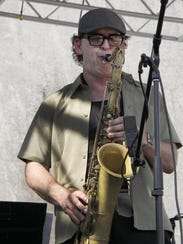 Chris Collins, artistic director of the Detroit Jazz